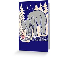 The Microphones - The Glow Pt. 2 Greeting Card