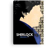 Sherlock. Metal Print