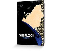 Sherlock. Greeting Card