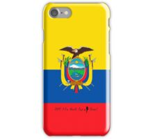 Ecuador iPhone Case/Skin