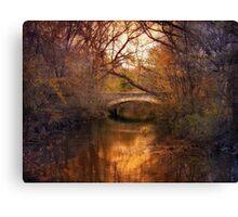 Autumn's Finale 3 Canvas Print