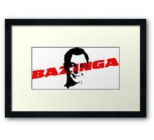 Big Bang Theory - Bazinga Framed Print