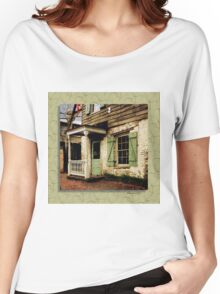 This Old House Is Haunted by Ghosts Women's Relaxed Fit T-Shirt