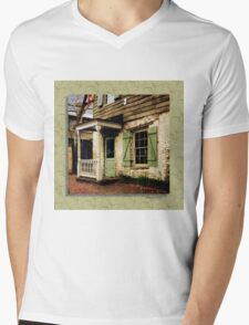 This Old House Is Haunted by Ghosts Mens V-Neck T-Shirt