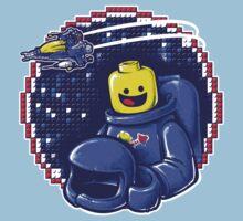 Portrait of a Space-Man Kids Tee