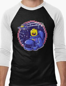 Portrait of a Space-Man Men's Baseball ¾ T-Shirt