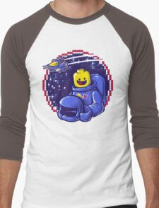 Portrait of a Space-Man Men's Baseball ¾ T-Shirt