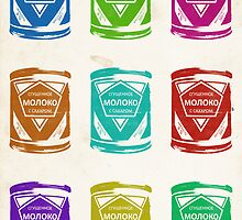 Condensed Milk Colours by Karolis Butenas
