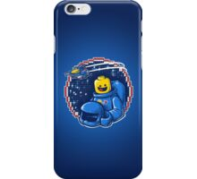Portrait of a Space-Man iPhone Case/Skin