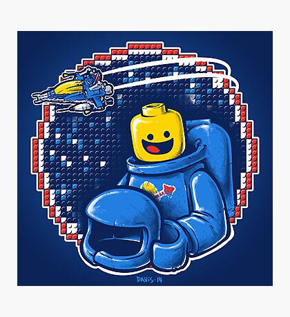 Portrait of a Space-Man Photographic Print