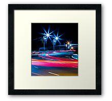 Nassau Nights: Sir Sydney Bridge Framed Print