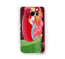 The Kiss (Gustav Klimt's Spidermand) Samsung Galaxy Case/Skin