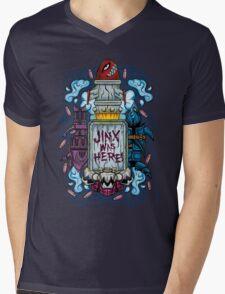 JINX THE LOOSE CANNON Mens V-Neck T-Shirt