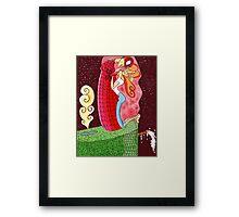 The Kiss (Gustav Klimt's Spidermand) Framed Print