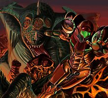 Metroid by Ericroseart