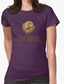 Hail Helix Fossil Womens Fitted T-Shirt
