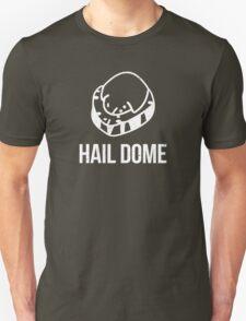Hail Dome Fossil White Unisex T-Shirt