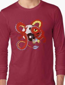 Chinese Dragon of Balance Long Sleeve T-Shirt