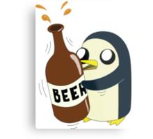 Gunter Loves Beer Metal Print