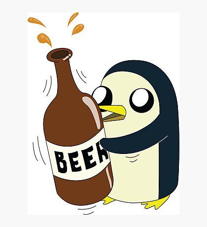 Gunter Loves Beer Photographic Print
