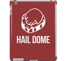 Hail Dome Fossil White iPad Case/Skin