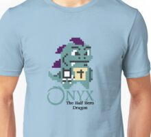 8-bit Onyx with text Unisex T-Shirt