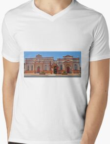 Inverell Art Gallery, Inverell, NSW, Australia (Panorama) Mens V-Neck T-Shirt