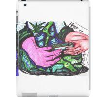 Free to Roll Oregon Cigarette iPad Case/Skin