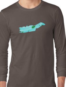 Leaf in the wind Long Sleeve T-Shirt
