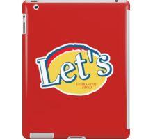 Let's Potato Chips (Community) iPad Case/Skin