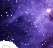 Purple Texas Nebula Sticker
