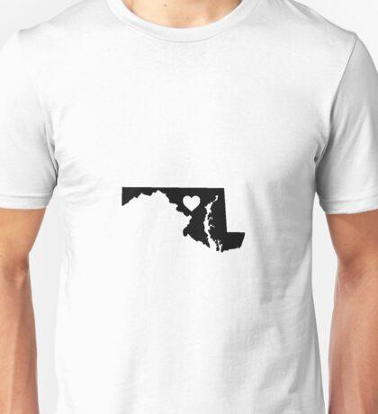 Maryland <3 Unisex T-Shirt