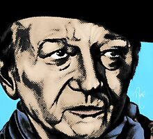 John Wayne Pop Art by April Cleaver