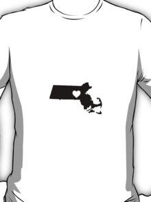 Massachusetts <3 T-Shirt