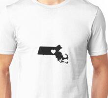 Massachusetts <3 Unisex T-Shirt