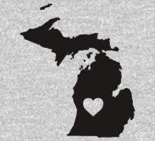 Michigan <3 One Piece - Long Sleeve