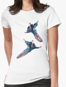 fly away ornacia Womens Fitted T-Shirt