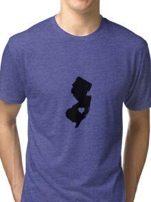 New Jersey <3 Tri-blend T-Shirt