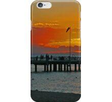 Sunset on Tangalooma, Queensland, Australia (Panorama) iPhone Case/Skin