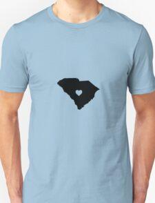 South Carolina <3 Unisex T-Shirt