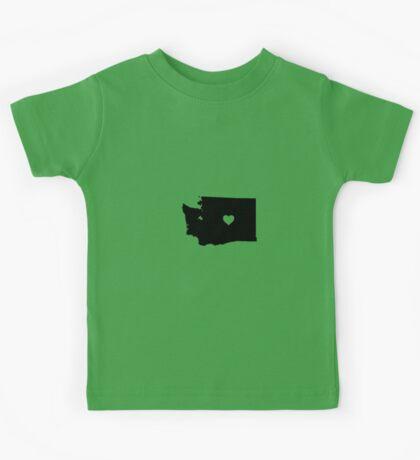 Washington <3 Kids Tee