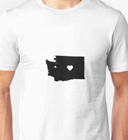Washington <3 Unisex T-Shirt