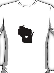 Wisconsin <3 T-Shirt
