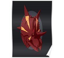 Bold Xenoceratops Poster