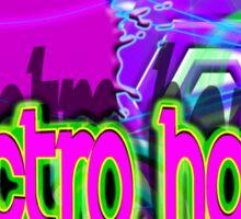 ELECTRO HOUSE MUSIC Sticker