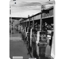 Bridge Over Troubled Waters ~ Black&White iPad Case/Skin