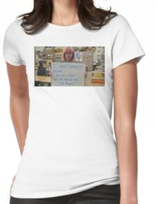 FEMINISM: A TEENS FIGHT FOR EQUALITY IN THE WORLD Womens Fitted T-Shirt