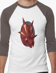 Bold Xenoceratops Men's Baseball ¾ T-Shirt