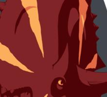 Bold Xenoceratops Sticker