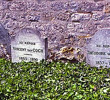 Last Resting Place of Vincent van Gogh #2, France. by johnrf